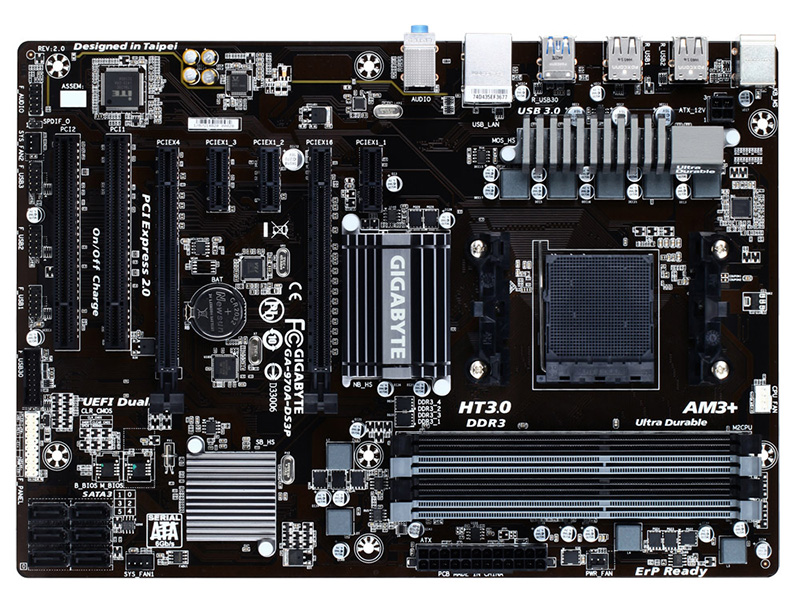 Mother Gigabyte Ga-970a-ds3p Socket Am3