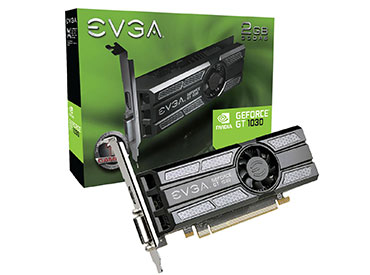 Placa de Video EVGA GeForce® GT 1030 SC 2GB GDDR5 Low Profile