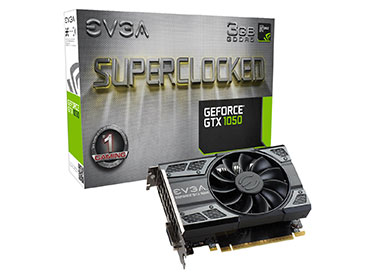 Placa de Video EVGA GeForce® GTX 1050 SC GAMING 3GB GDDR5