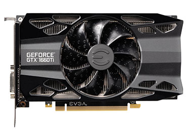 Placa de Video EVGA GeForce® GTX 1660 Ti XC Black GAMING - 6GB GDDR6
