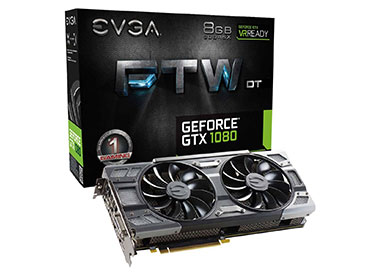 Placa de Video EVGA GeForce® GTX 1080 FTW DT GAMING