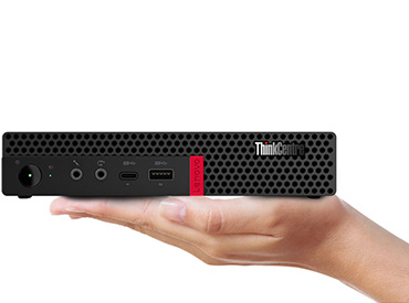 Lenovo ThinkCentre M630e Tiny - Intel® Pentium® - 4GB - 128GB SSD (10YM00AHAC)