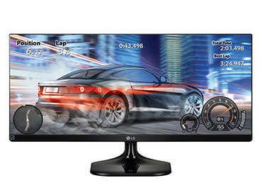 "Monitor LED LG 29"" 29UM58-P IPS UltraWide® Full HD - HDMI - 21:9"
