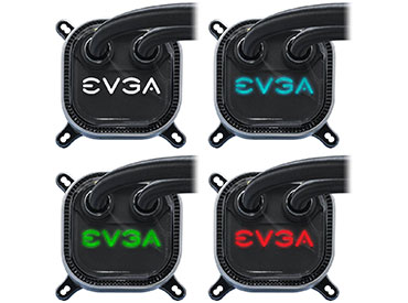 Cooler para CPU EVGA CLC 120 Liquid / Water RGB LED