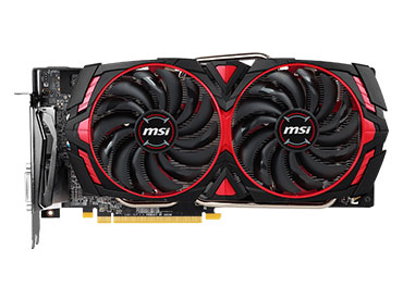 Placa de video MSI Radeon™ RX 580 ARMOR MK2 8G OC