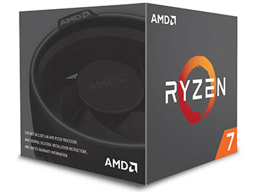 Microprocesador AMD Ryzen™ 7 1700 3.7GHz AM4