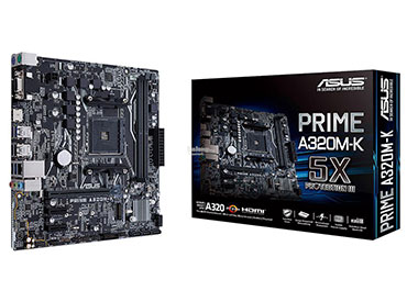 Mother ASUS PRIME A320M-K Socket AM4