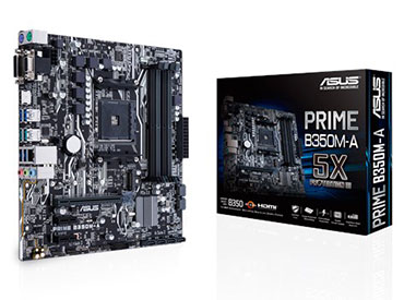 Mother ASUS PRIME B350M-A Socket AM4