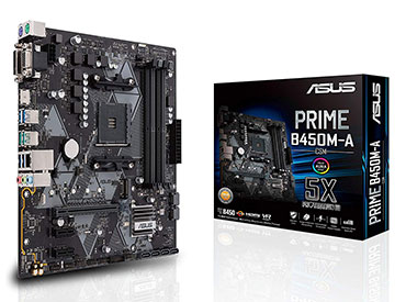 MOTHER ASUS PRIME B450M-A/CSM SOCKET AM4