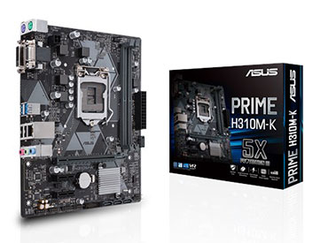 Mother ASUS PRIME H310M-K Socket 1151