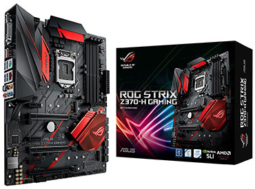 Mother ASUS ROG STRIX Z370-H GAMING Socket 1151