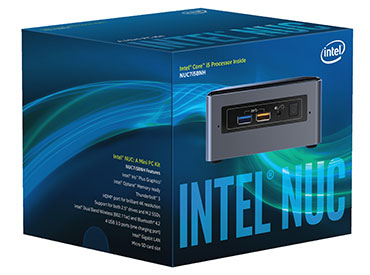 Kit Intel® NUC NUC7i5BNH - Intel® Core™ i5-7260U