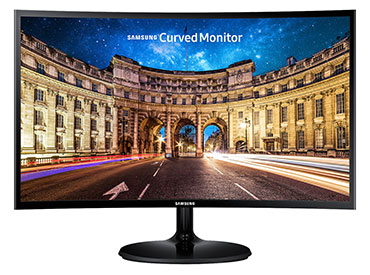 "Monitor LED Samsung Curvo 27"" C27F390 con AMD FreeSync"
