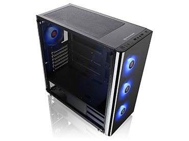Gabinete Thermaltake V200 Tempered Glass RGB Edition