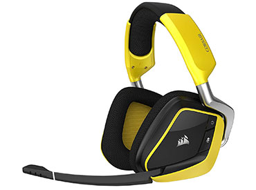 Auriculares Corsair VOID PRO RGB SE Wireless Dolby® Headphone 7.1 - Yellow