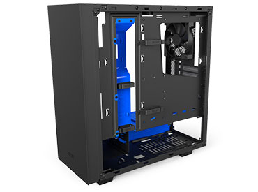 Gabinete NZXT S340 Elite Black/Blue