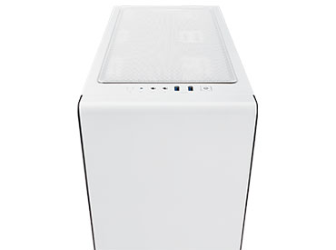 Gabinete Corsair Carbide Series® Clear 400C - White
