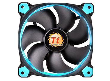 Cooler pack Thermaltake Riing 12 LED Blue (pack de 3 ventiladores)