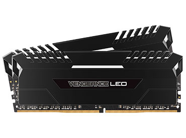 Memoria Ram Corsair Vengeance® LED DDR4 16GB 2666MHz (2x8GB) - LED White