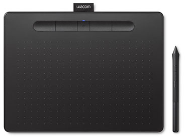 Tableta Digitalizadora Wacom Intuos Medium con Bluetooth - CTL-6100W