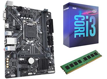 COMBO ACTUALIZACIÓN INTEL CORE I3-8100 DDR4