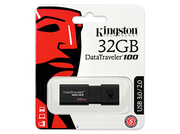 Pen Drive Kingston DataTraveler 100 G3 32GB USB 3.0