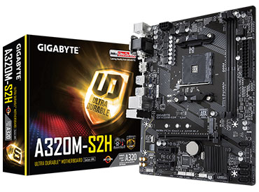 Mother Gigabyte GA-A320M-S2H Socket AM4