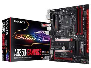 Mother Gigabyte GA-AB350-Gaming 3 Socket AM4