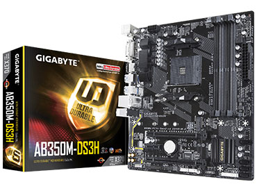 Mother Gigabyte GA-AB350M-DS3H Socket AM4