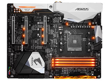 Mother Gigabyte GA-AX370-GAMING 5 Socket AM4