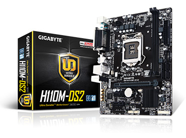 Mother Gigabyte GA-H110M-DS2 Socket 1151