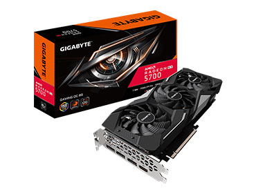 Placa de video Gigabyte Radeon™ RX 5700 GAMING OC 8G
