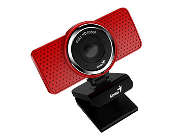 Genius ECam 8000 Red - Full HD con Micrófono integrado