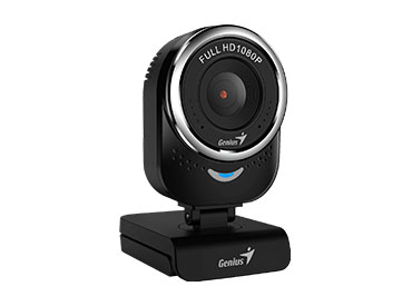 Genius QCam 6000 Black - Full HD con Micrófono integrado