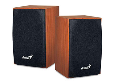 Parlantes Genius SP-HF160 USB 4W Wood