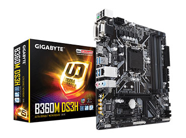 Mother Gigabyte B360M DS3H Socket 1151