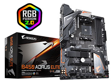 Mother Gigabyte B450 AORUS ELITE Socket AM4