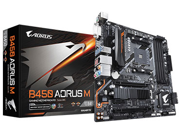 Mother Gigabyte B450 AORUS M Socket AM4
