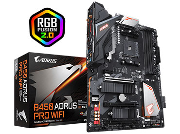 Mother Gigabyte B450 AORUS PRO WIFI Socket AM4