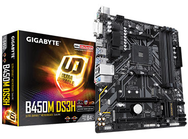 Mother Gigabyte B450M DS3H Socket AM4