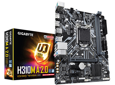 Mother Gigabyte H310M A 2.0 Socket 1151