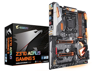 Mother Gigabyte Z370 AORUS Gaming 5 Socket 1151
