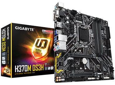 Mother Gigabyte H370M DS3H Socket 1151