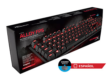 Teclado Mecánico Kingston HyperX™ Alloy FPS - Cherry MX Blue
