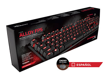 Teclado Mecánico Kingston HyperX™ Alloy FPS - Cherry MX Brown