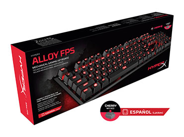 Teclado Mecánico Kingston HyperX™ Alloy FPS - Cherry MX Red