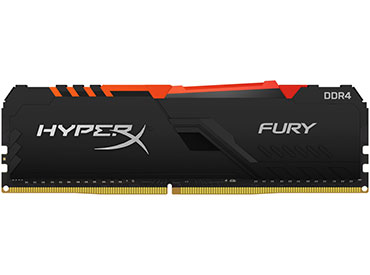 Memoria Ram Kingston HyperX Fury DDR4 RGB 8GB 2666MHz