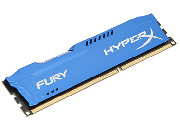 Memoria Ram Kingston HyperX Fury DDR3 4GB 1600MHz
