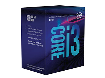 Microprocesador Intel® Core™ i3-8100 (6M Cache, 3.60 GHz) s.1151 BOX