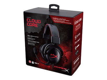Auriculares con Micrófono Kingston HyperX™ Cloud Core